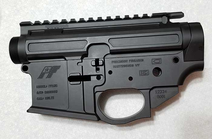 Precision Firearms Machined Billet AR15 Receiver Set II