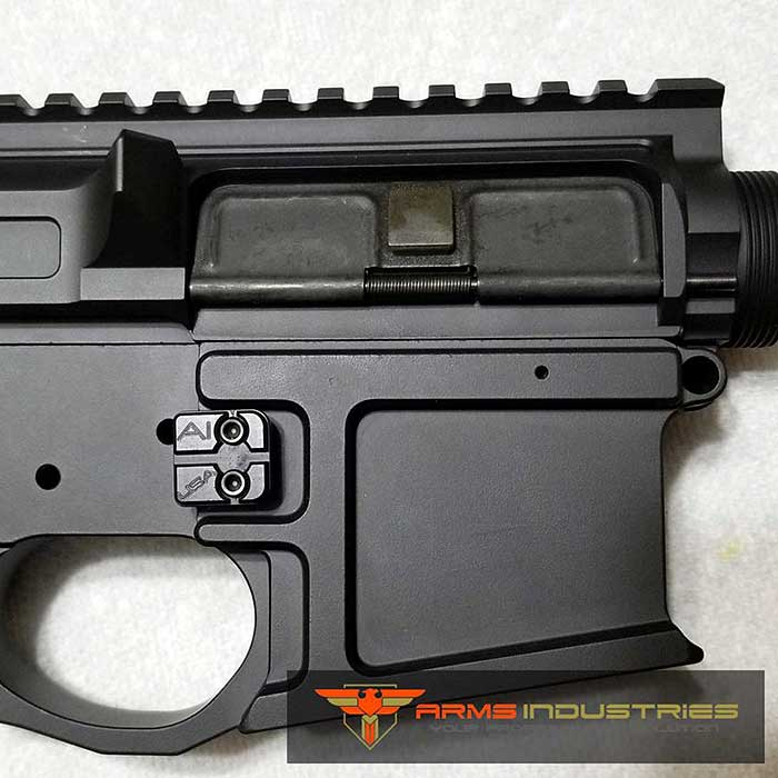 Arms Industries Pro AR Magazine Release - Tactical Black