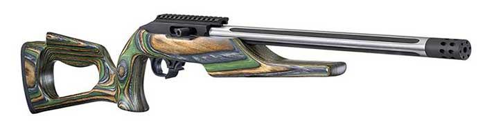 Ruger Custom Shop 22LR Green Mountain Barracuda Rifle III