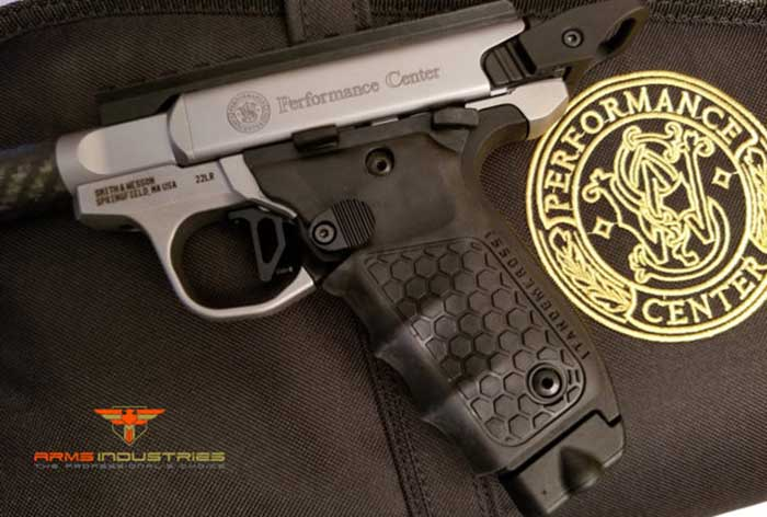S&W Performance Center SW22 Victory 22LR Target 3