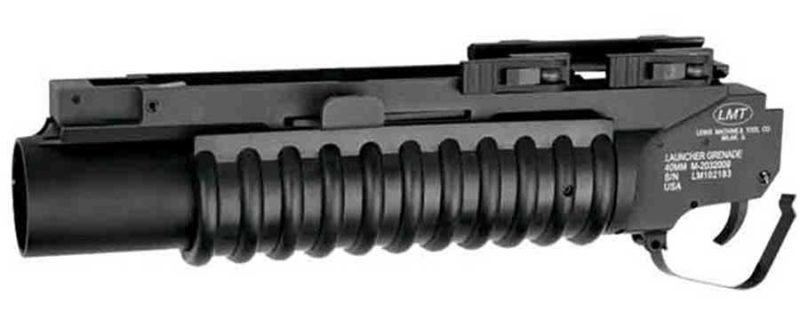 "LMT M203 2003 Rail Mounted Grenade Launcher 40MM 9"" Barrel"