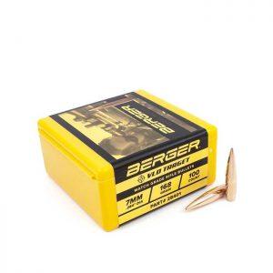 Berger 7mm VLD 168 Grain Target Bullets